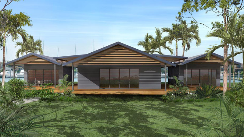 Our kit home designs for Steel home plans designs